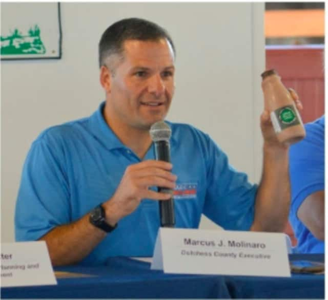 Dutchess County Executive Marc Molinaro discusses the importance of agriculture to the area.