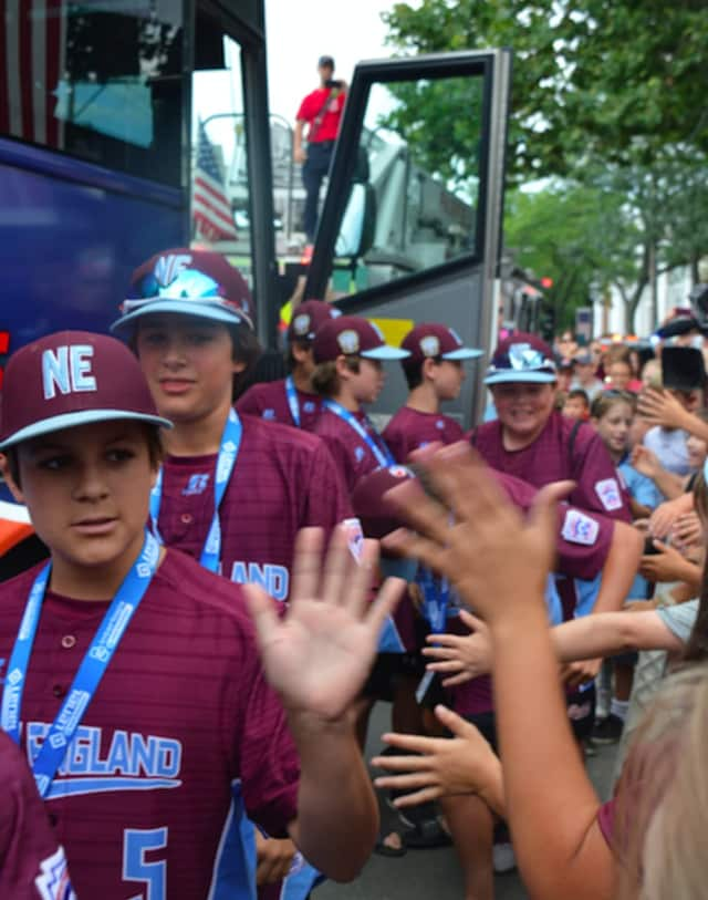 Fairfield American returned home from its 3-2 run in the Little League World Series last week.