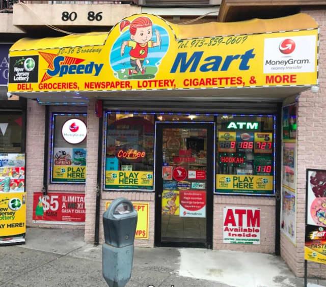 Speedy Mart in Passaic.