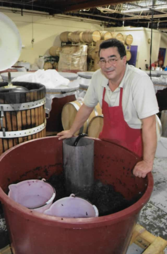 Carmine Corelli, founder of the Westchester Homemade Wine Center in Yorktown Heights.