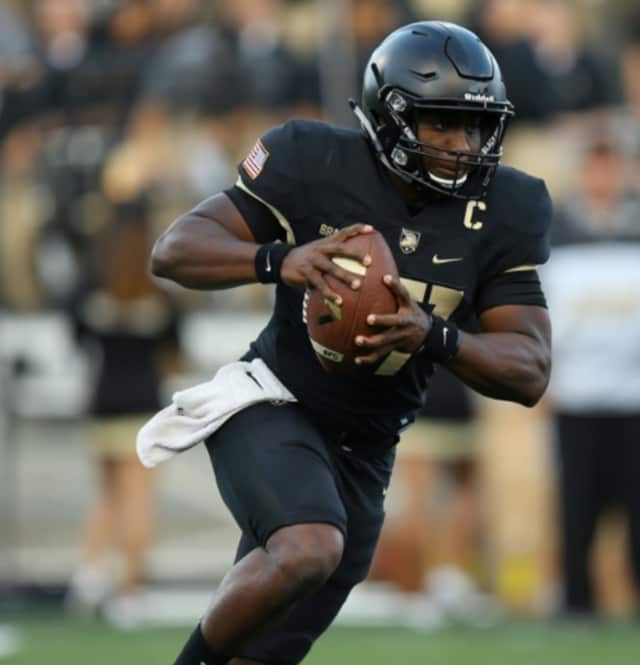 Army's Ahmad Bradshaw ran for a career high 177 yards against Fordham on Friday.