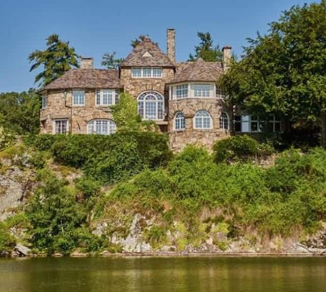 Boulder Point is a 17-acre estate that sits on Tuxedo Lake.