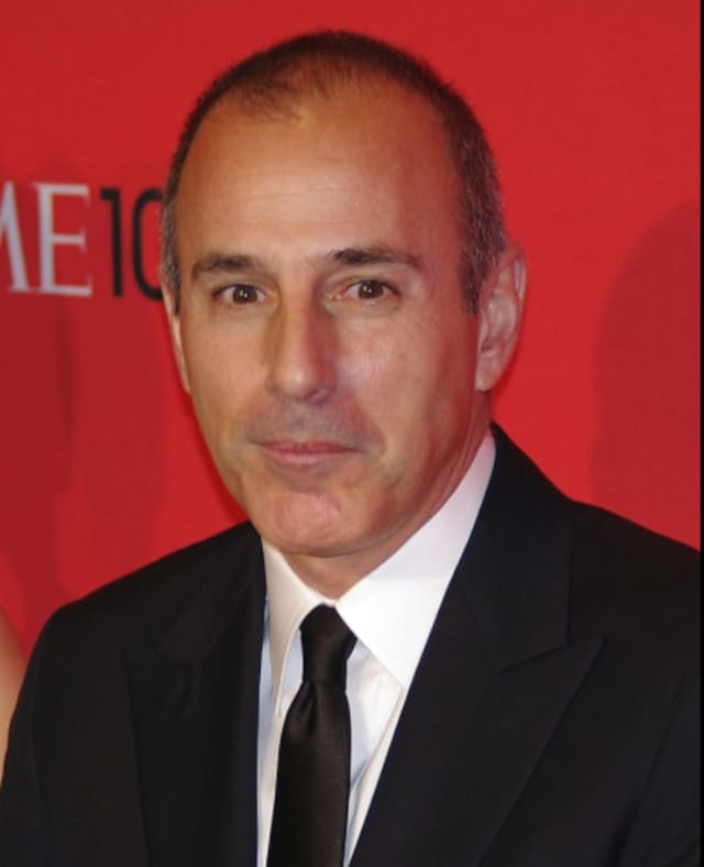 Matt Lauer is a member of the Class of 1975 at Greenwich High School.