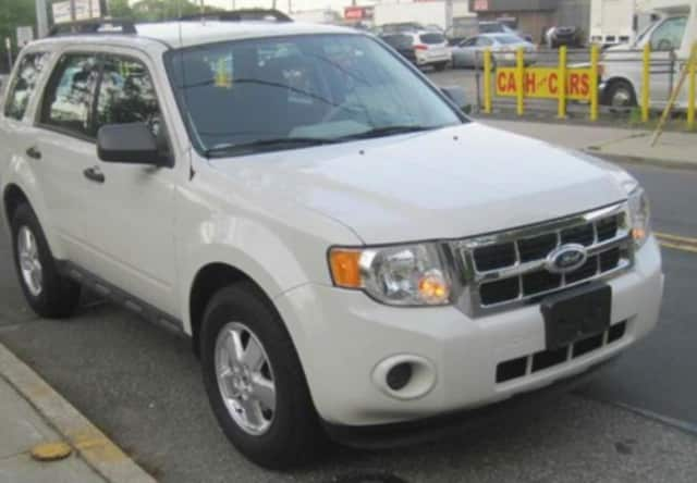 The missing man, whose photo has not yet been released, was driving a 2012 Ford Escape, similar to this model.