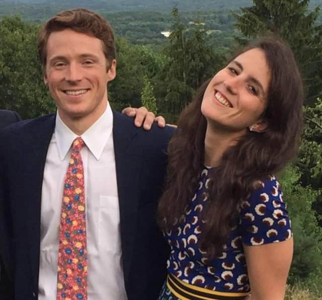Tatiana Schlossberg, daughter of Caroline Kennedy and Edwin Schlossberg, married fellow Yale graduate George Moran, a Greenwich native, on Saturday on Martha's Vineyard.