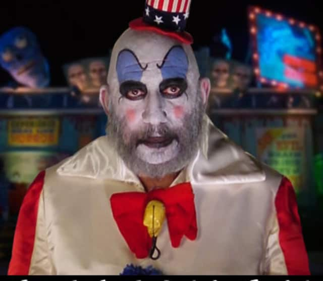 Horror actor Sid Haig, pictured above in 'House of 1000 Corpses,' will be meeting with fans at the upcoming CT HorrorFest in Danbury.