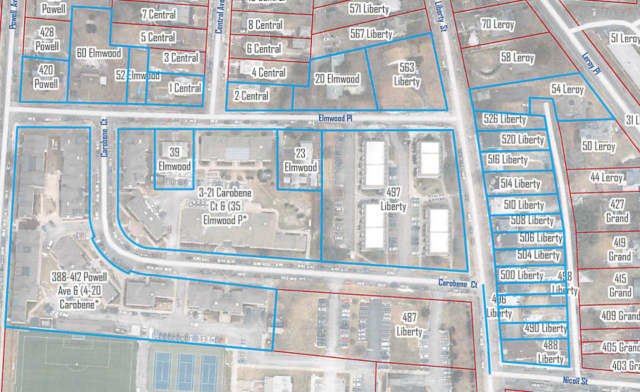 Residents located in the blue highlighted area are advised to boil water for at least two minutes.