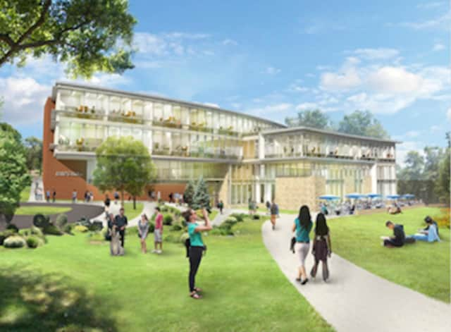 Fairfield University plans to open its new Dolan School of Business in 2019.