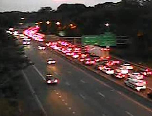 A look at the delays on I-95 Thursday night after the fatal crash.