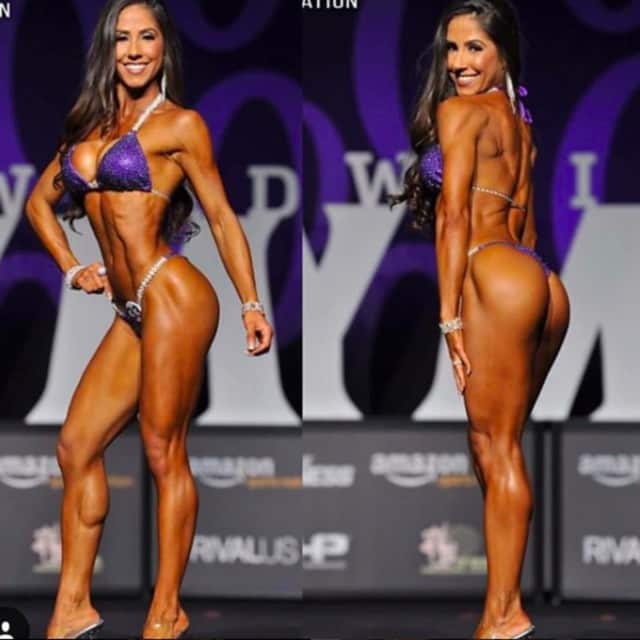 Angelica Teixeira, an athlete from Tenafly, was crowned Ms. Bikini Olympia 2017.