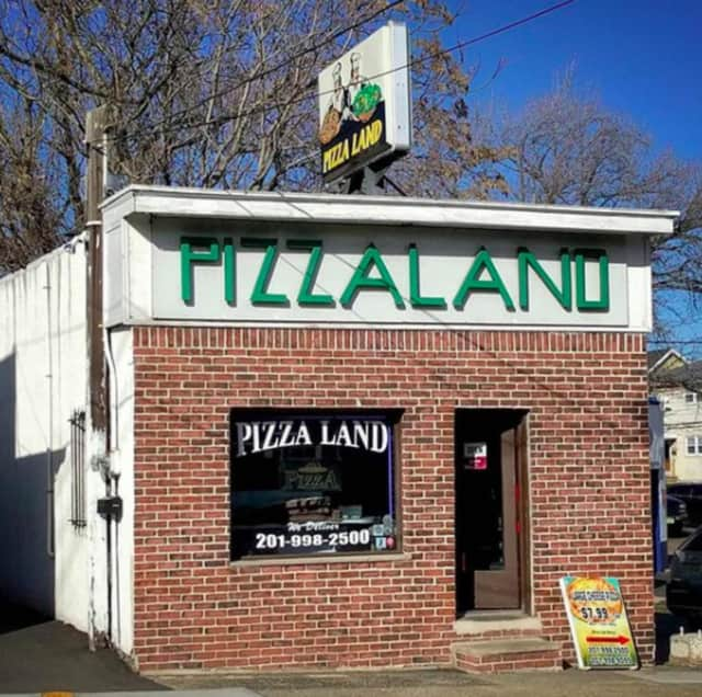 The iconic Pizzaland, located in North Arlington.