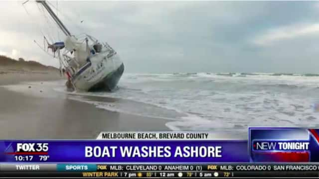 "A so-called ""ghost boat"" from New Rochelle washed up without warning on a Florida beach."