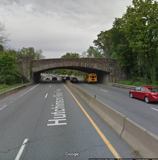 The East Third Street Bridge connecting Pelham and Mount Vernon.