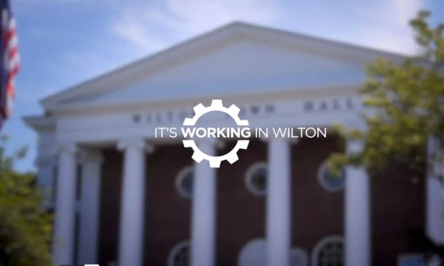 """It's Working in Wilton,"" a five-minute video, focuses on the town's access to transportation, proximity to Boston and New York, and access to a highly educated workforce."
