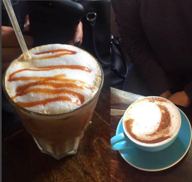 Coffee love at Caffee Macchiato in Newburgh.