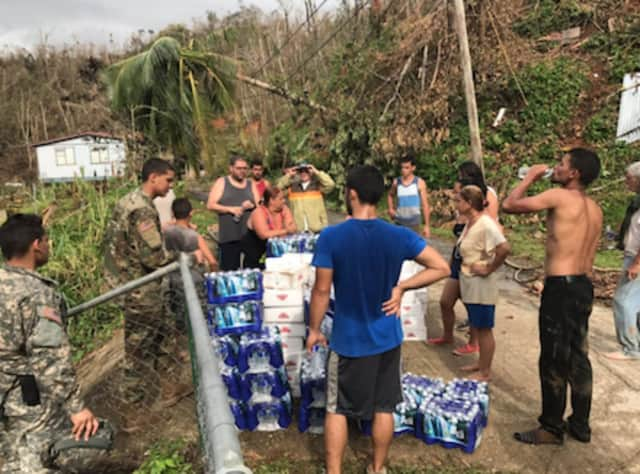 Orange County is collecting items like bottled water to help hurricane-ravaged Puerto Rico.
