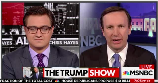 U.S. Sen. Chris Murphy appears Thursday night on 'All In With Chris Hayes' on MSNBC.