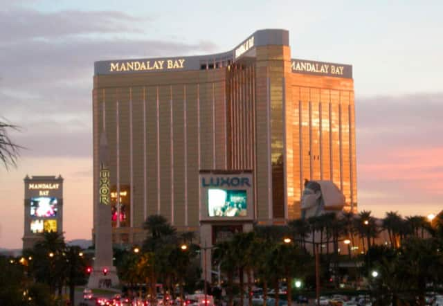 A gunman shooting from the 32nd floor of the Mandalay Bay Hotel on the Las Vegas Strip shot and killed more than 50 people and injured at least 200 at a country music concert Sunday night.