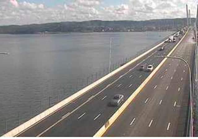 Traffic is flowing freely on the old Tappan Zee Bridge after the early morning fire.