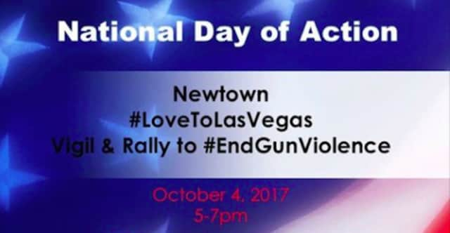 The Newtown Action Alliance is holding a rally on Wednesday at the headquarters of the National Shooting Sports Foundation.