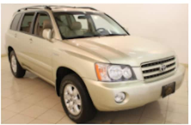 The missing man was driving a 2003 gold Toyota Highlander with New York registration CRG-8287.