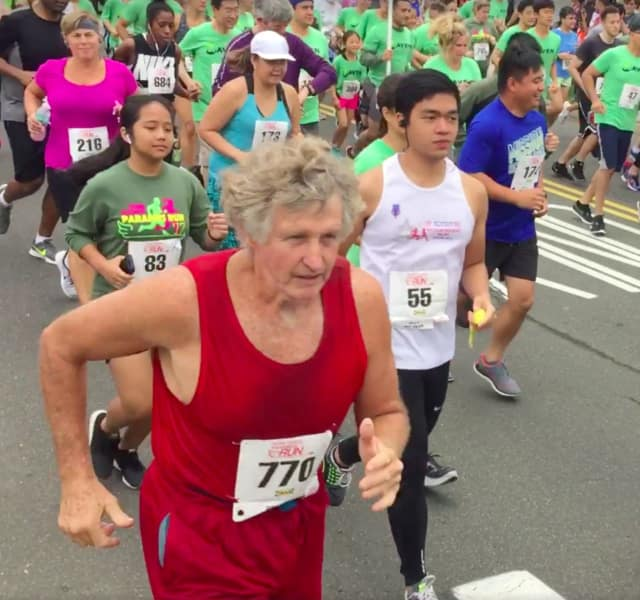 And they're off!  The  39th annual Terri Roemer Paramus Run was held on Oct. 15.