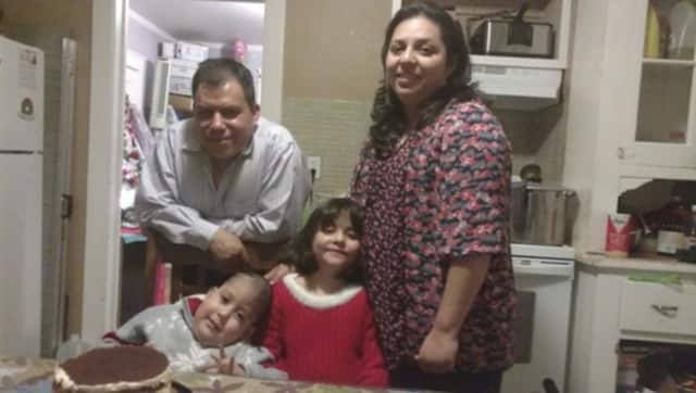 Noel Lopez-Reyes and his family in Port Chester.