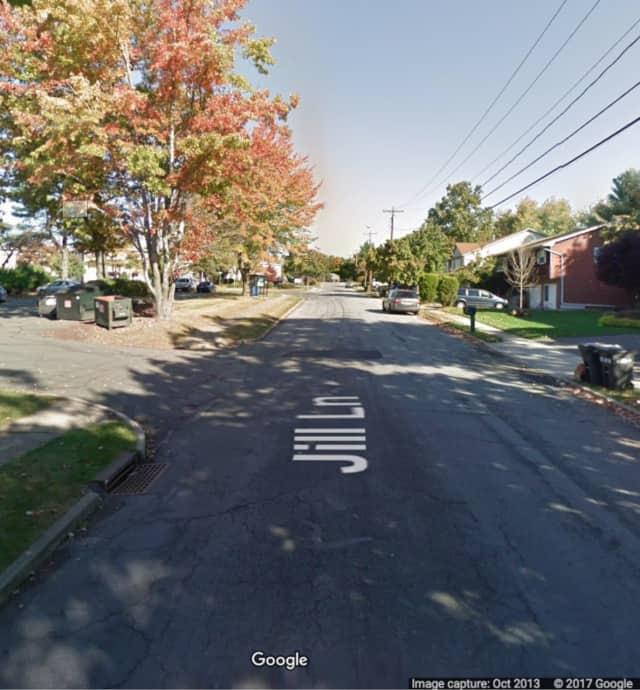 An Orange County man working in Spring Valley found swastikas drawn on his van windows.