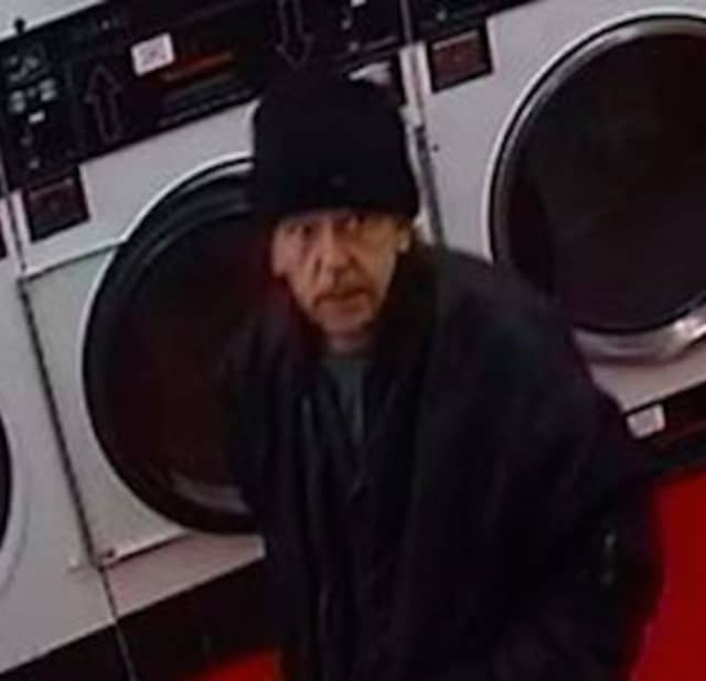 Do you know this man? He is the suspect in a robbery at the Sock Hop Laundromat in Milford.
