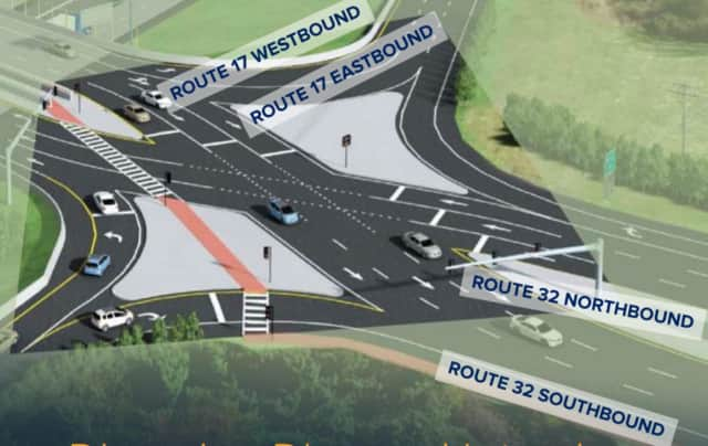 "Will this configuration reduce congestion near Woodbury Common? State officials say ""Yes."""