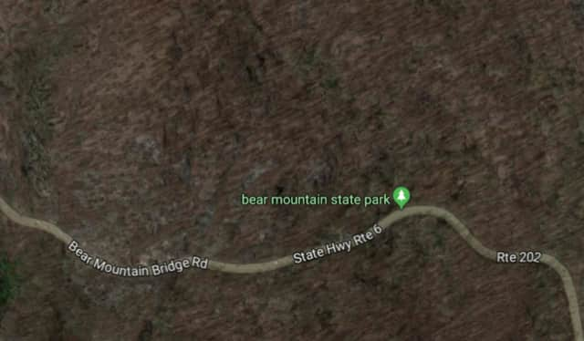 Bear Mountain Bridge Road will be closed in both directions for at least the next two hours.