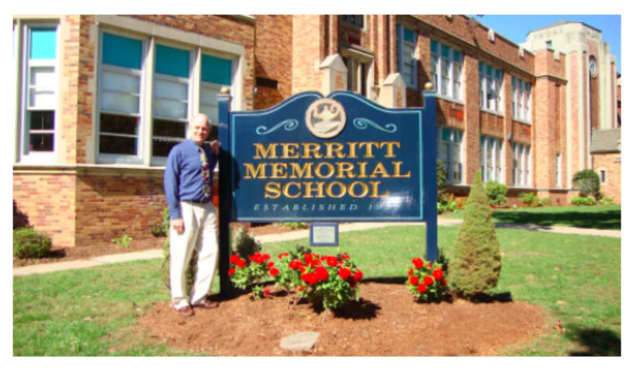 Principal Paul Diverio at the Merritt Memorial School in Cresskill.