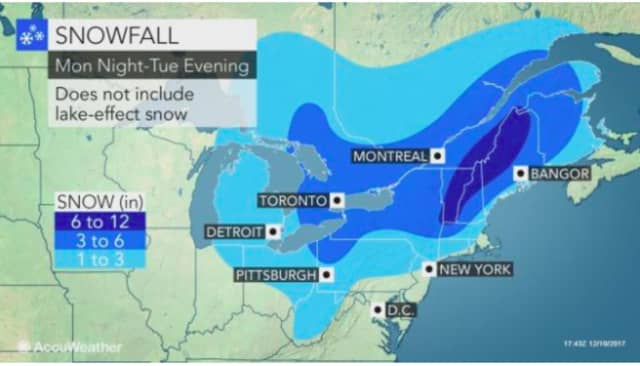 A look at a new storm system that will result in more slippery driving conditions, with between 1 to 3 inches of snow possible in parts of the tristate region.