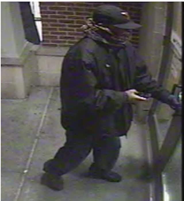 Beacon police are asking for the public's help in identifying a bank robber.