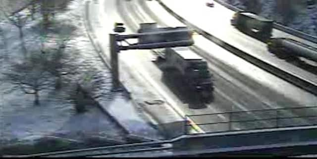 I-287 at the Taconic State Parkway in North White Plains just before 10;45 a.m. Thursday.