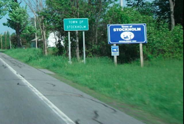 Stockholm, NY is located in St. Lawrence County near the Canadian border.