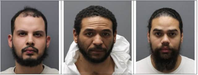 Noel Fernandez, 30; Michael Soriano, 32; and Adel Ordonez, 33.