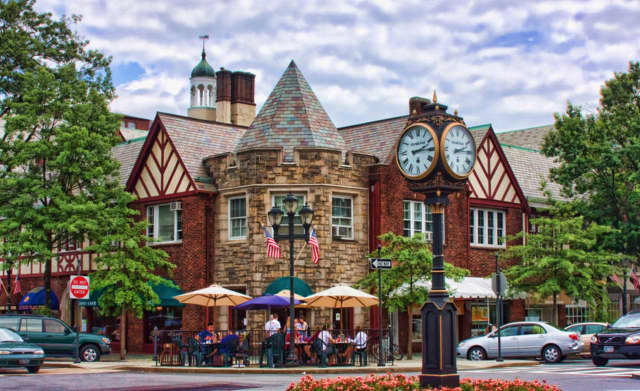Scarsdale was among the top 40 places to live in New York, according to the website.