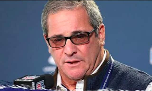 Giants GM Dave Gettleman, former head varsity coach at Spackenkill HS.
