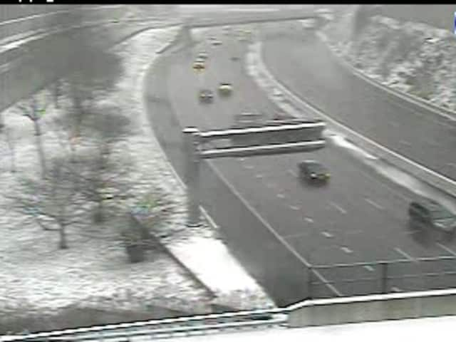 I-287 and the Taconic State Parkway in North White Plains early Saturday afternoon.