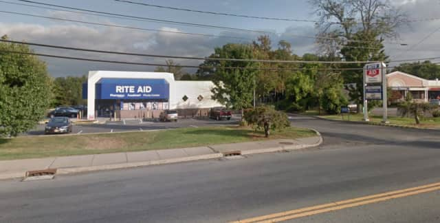 The Rite Aid in Orange County targeted by Lawrence Brown.
