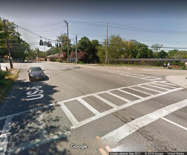 Route 6 at Lexington Avenue in Mohegan Lake.