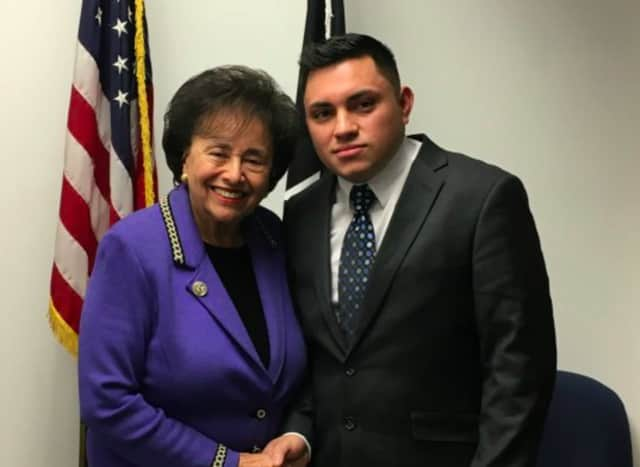 "U.S. Rep. Nita Lowey invited Hugo Alexander Acosta Mazariego of Pearl River, a successful and grateful ""Dreamer,"" as her guest at Tuesday's State of the Union address in which immigration is likely a talking point of President Trump's."