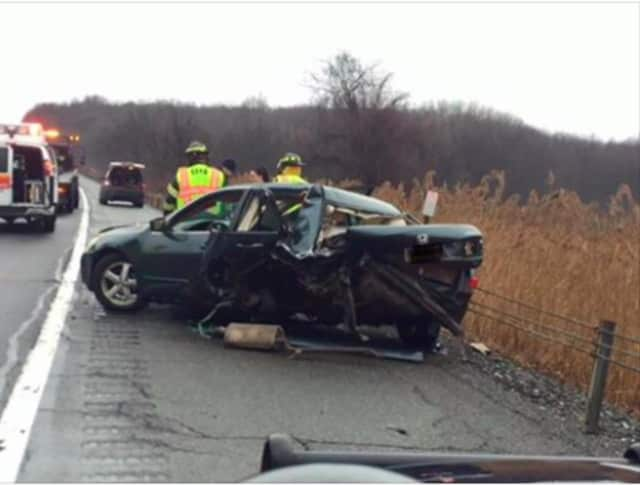 A look at the I-84 crash Sunday in East Fishkill.