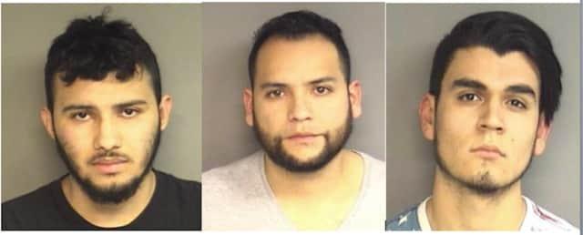 Kevin Tobar-Castillo, 21; Johan Cifuentes, 30, and Christopher Torres, 21,
