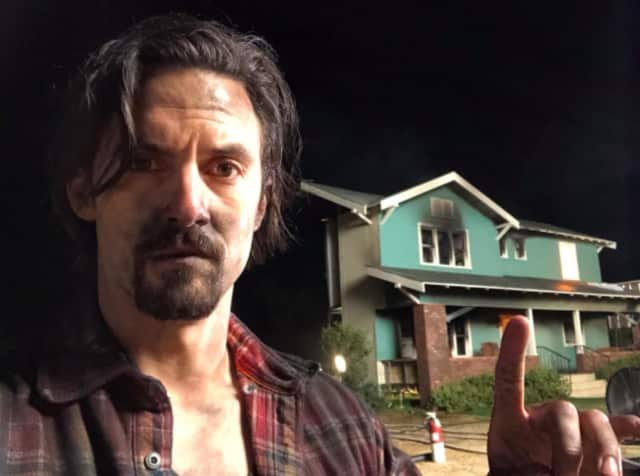 Jack (Milo Ventimiglia) following the house fire that ultimately killed him.