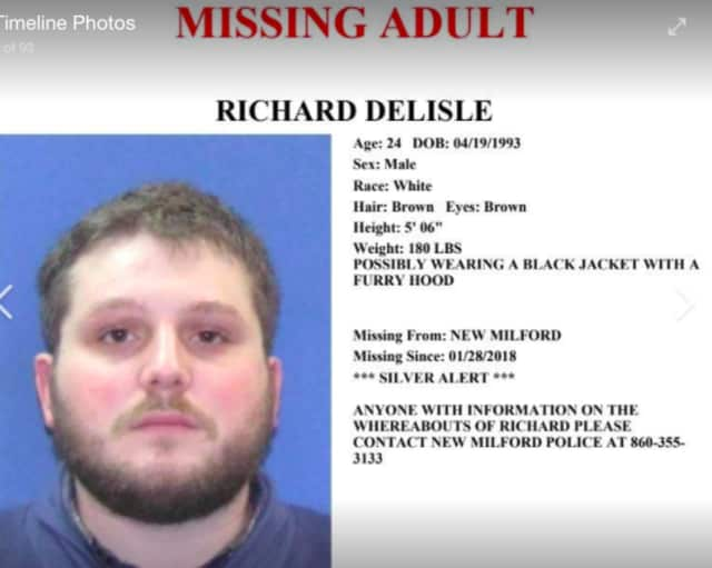 Richard Delisle is missing.