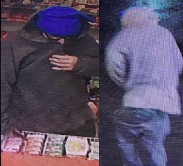 Fairfield Police are asking for help locating an armed robber.