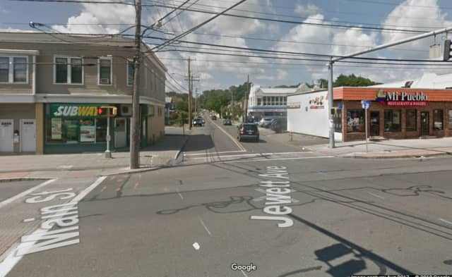 Two officers were injured after being dragged by a car on Jewett Avenue.