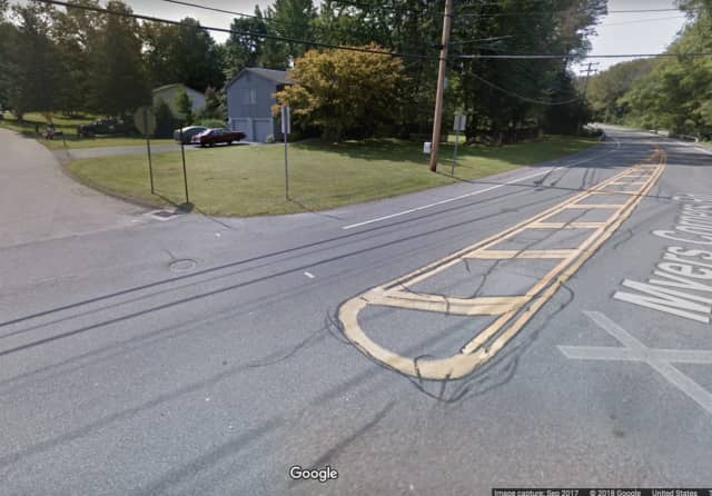 A man was hit by a car while crossing the roadway,.